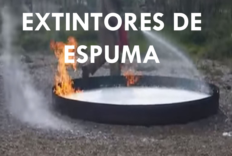 EXTINTORES DE ESPUMA