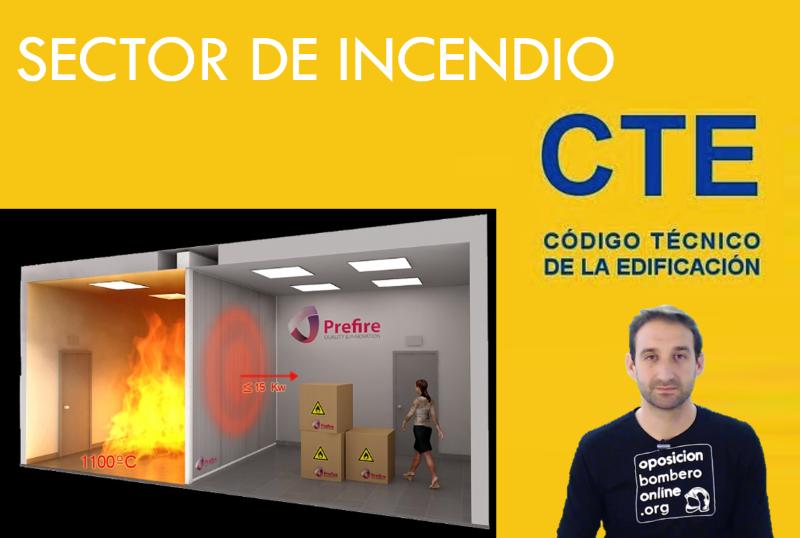 SECTOR DE INCENDIO SEGUN EL CTE.