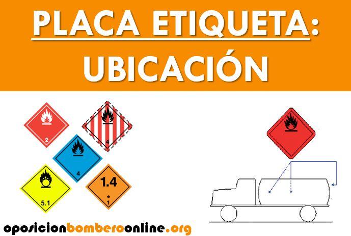 PLACA ETIQUETA UBICACION.