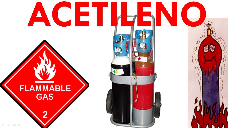 Vídeo sobre los riesgos del acetileno en un incendio