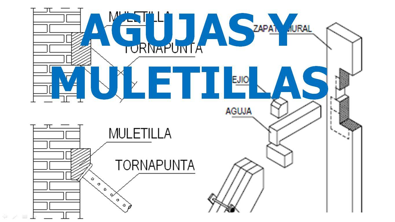 AGUJAS Y MULETILLAS