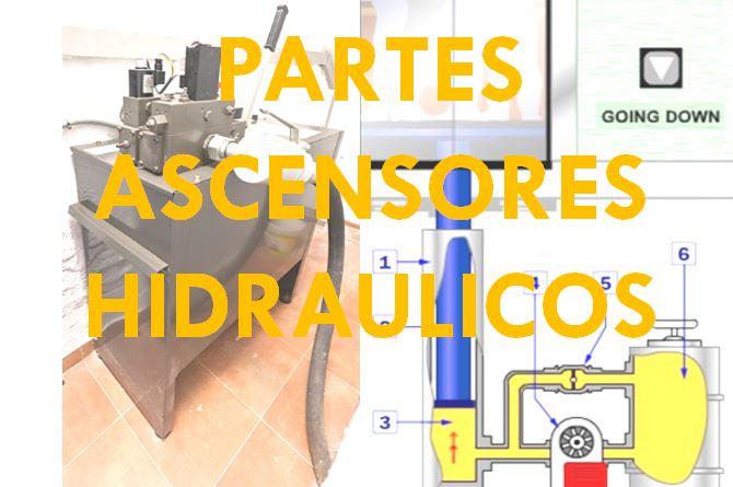 ASCENSOR HIDRAULICO PARTES