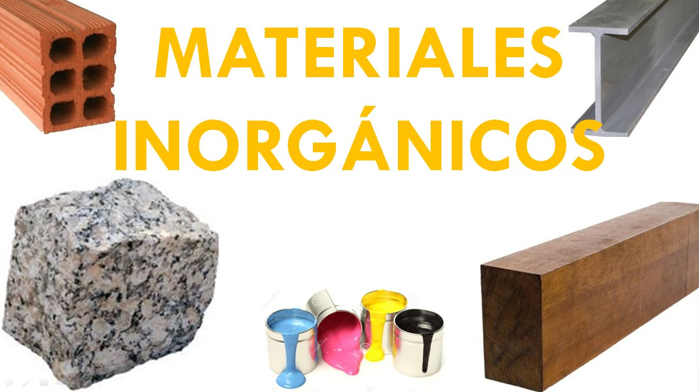 MATERIALES INORGANICOS