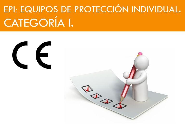 EQUIPO DE PROTECCION INDIVIDUAL CATEGORIA I