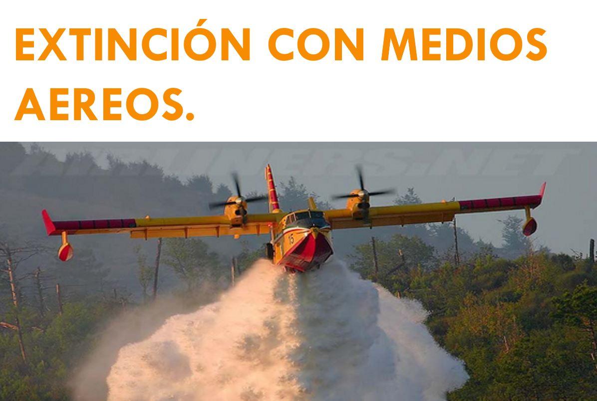 EXTINCION CON MEDIOS AEREOS