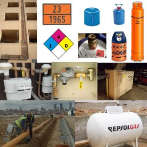 SUMINISTROS DE GASES COMBUSTIBLES: GLP, GNL Y GN - RED DE DISTRIBUCIÓN Y INSTALACIONES
