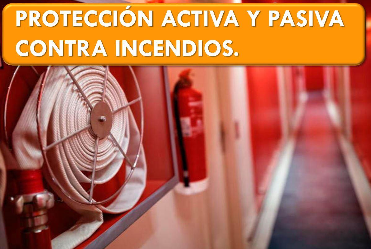 PROTECCION ACTIVA CONTRA INCENDIOS