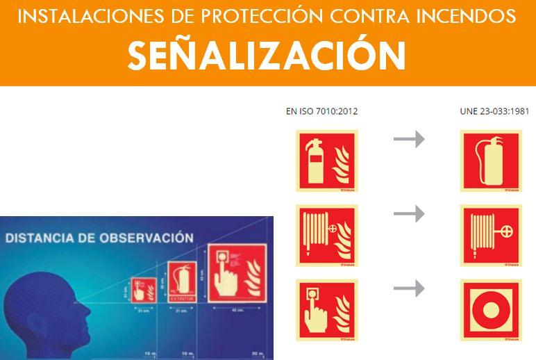 SEÑALIZACION MEDIOS PROTECCION CONTRA INCENDIOS