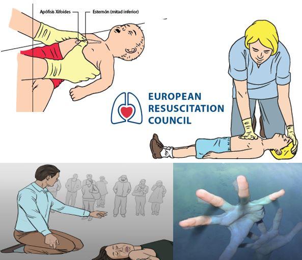 RECOMENDACIONES 2015 ERC / RCP y SECUENCIA PEDIATRICA / OVACE / RESCATE ACUÁTICO Y AHOGAMIENTO