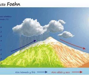 INCENDIOS FORESTALES: FACTORES QUE VAN A DETERMIANAR SU COMPORTAMIENTO (2). CLIMATOLOGÍA Y COMBUSTIBLES VEGETALES EFECTO FOEHN