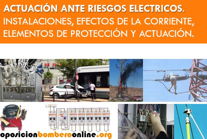 ACTUACION ANTE RIESGOS ELECTRICOS