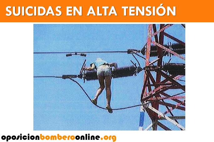 SUICIDAS EN ALTA TENSION