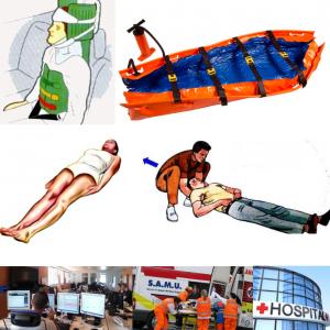 PERDIDAS DE CONOCIMIENTO / MATERIAL DE INMOVILIZACIÓN Y TRANSPORTE / SISTEMAS DE RECOGIDA Y TRANSPORTE / AMVDE INMOVILIZACIÓN Y TRANSPORTE