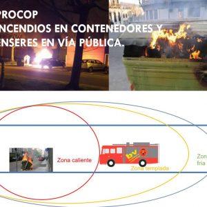 PROCOP INCENDIO CONTENEDORES